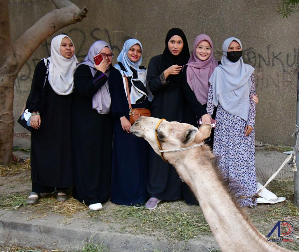 [FOTO] Aidiladha bersama pelajar Malaysia di Mesir